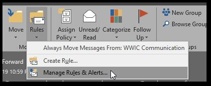 Outlook Rule ProTip: Defer all sent Mails by 1 Minute