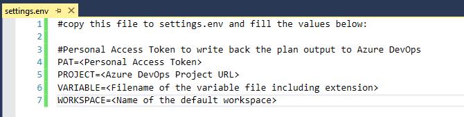 Docker Environment Variables in Visual Studio