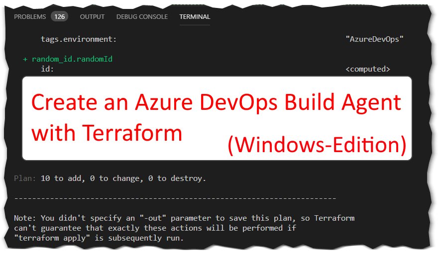 Self-Hosted Azure DevOps Build/Release Agent with Terraform
