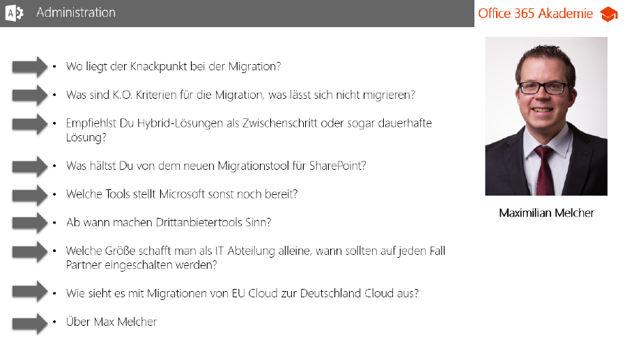 First interview with Thomas Maier from Office365Akademie.de
