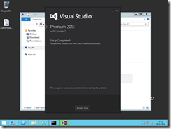 43. Installing Visual Studio is so easy, I skip the screenshots. Hit next next next.