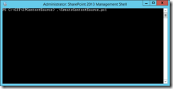 Run the script in an admin powershell