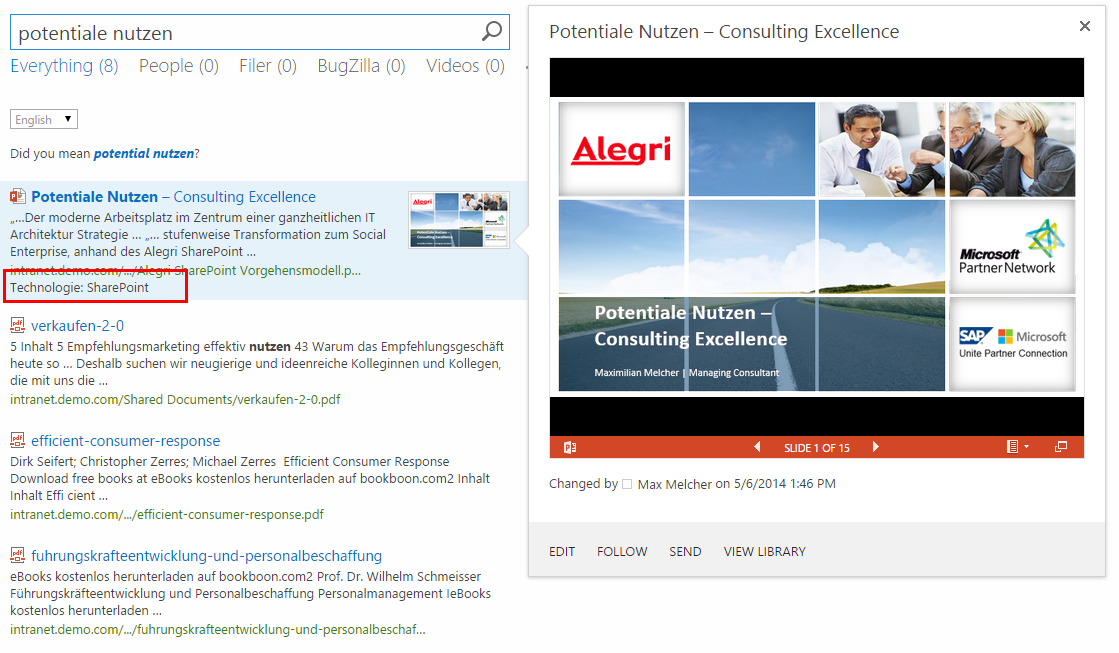 A to Z: Create a Display Template for SharePoint 2013 Search to ...