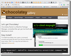 45. Installing 10 SharePoint must have tools - chocolatey is the answer!
