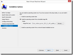 6. Pre-mount the Windows Server 2012 R2 image